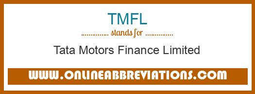 What does TMFL mean in Business?